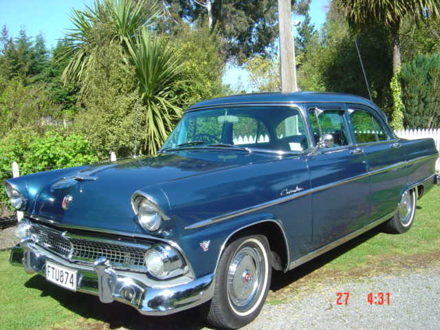 Ford Customline Phil Gillespie 55 Sedan 605