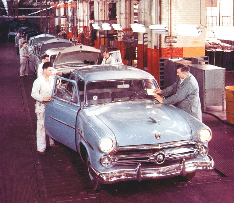 Ford Final Inspection Assembly Line